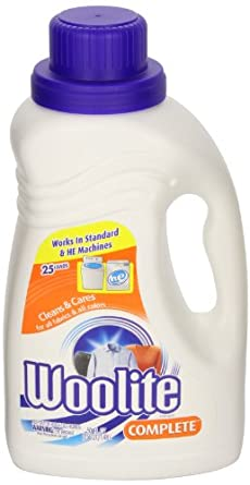 Woolite 77940 Complete Laundry Detergent 50-Ounce Bottle (Case of 6)