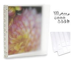 Pina Zangaro MIST Frosted Acrylic Screwpost Portfolio (Deluxe Set - 14\