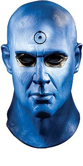 Watchmen Dr. Manhattan Deluxe Latex Mask
