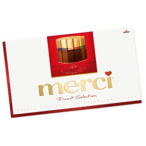 Merci Chocolate Assortment Gift Box 400g