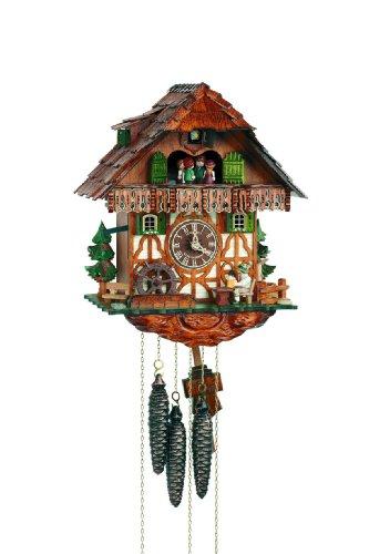 Schneider Black Forest 13 Inch Musical Beer Drinker Cuckoo Clock