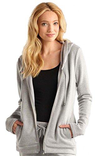 UGG Australia Sarasee Double Knit Shawl Hood Jacket (UA6155W) S/Seal Heather