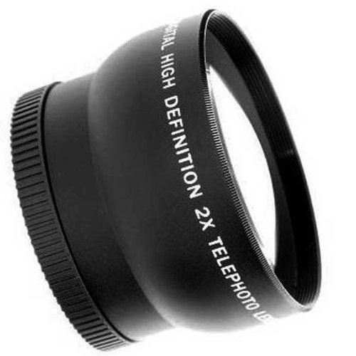 Neewer 52 Mm Telephoto Lens With Lens Bag For Cameras And Camcorders With 52Mm Size Lens Filter Thread