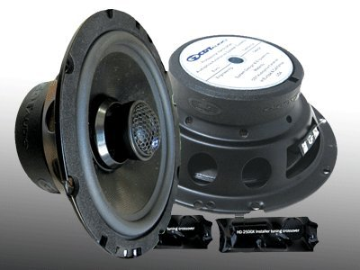 "Cl-6Cxmb.2 6.5"" Cdt Audio 2 Ohm Enhanced Bass Component/Coaxial Speaker Pair"