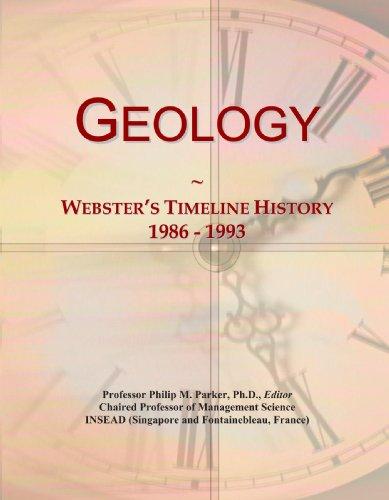 Geology: Webster's Timeline History, 1986 - 1993