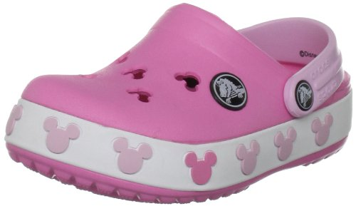 [クロックス] crocs Crocband Mickey Kids II 11388-69K-115  Pink Lemonade/Bubblegum (ピンク レモネード/バブルガム/C8/9/15.5cm)