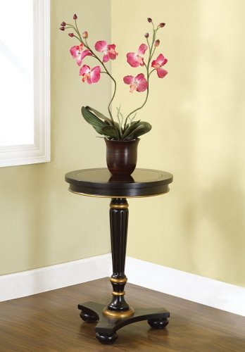 Accent Table in Antique Black - Powell Furniture - 416-353