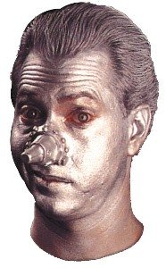 Wizard of Oz Tin Man Nose Accessory