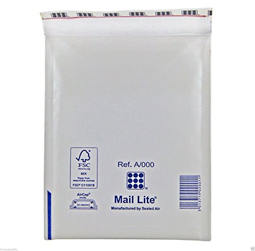 5-x-white-mail-lites-padded-envelopes-jiffy-bags-a-000-bubble-wrap-lined