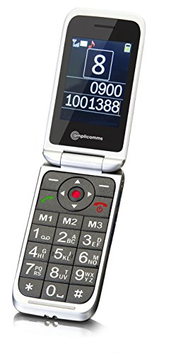 amplicomms-powertel-m7000i-clam-shell-gsm-sim-free-mobile-phone-white
