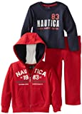 Nautica Sportswear Kids Boys 2-7 3 Piece Set With Hoody