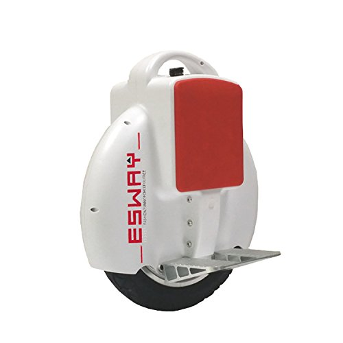 Chargeable Mars Wheel ,130Wh 18-23Km Riding Range Self Balancing One /Single Wheel Electric Unicycle Scooter With Us Charger -White
