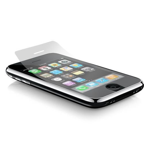 Seidio UltiMate Screen Guard Film for iPhone 3G, 3G S [2 Pack]