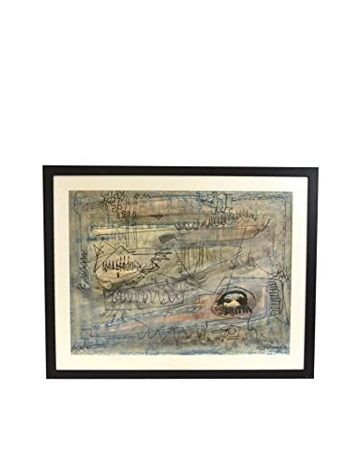 Aviva Stanoff Abstract Artwork By Rosenfeld, Multi