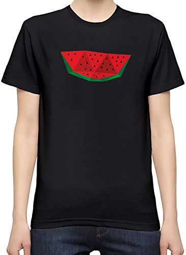 Origami Watermelon T-Shirt per Donne Large