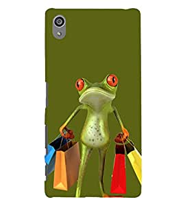 Busy Frog 3D Hard Polycarbonate Designer Back Case Cover for Sony Xperia Z5 Premium (5.5 Inches) :: Sony Xperia Z5 Premium Dual