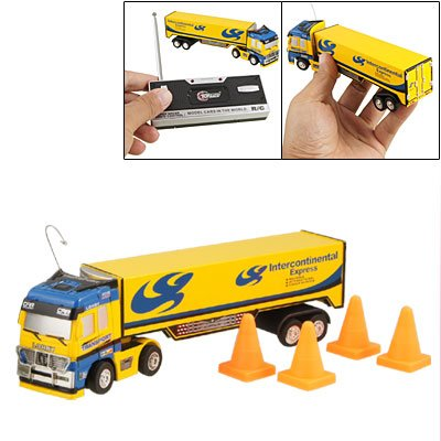 Children 1:98 Scale Radio Remote Control Mini Transport RC Car Toy