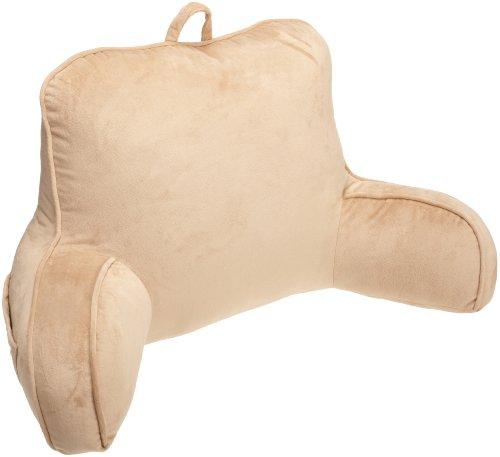 Brentwood Originals Vintage Plush Bed Rest, Camel