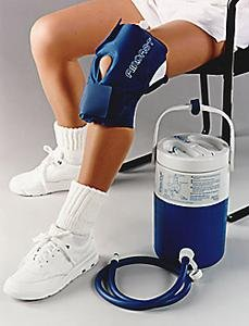 AirCast Compression System - Complete - Knee - Large by Aircast