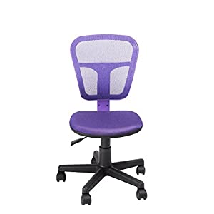 GreenForest Hight Quality Purple Swivel Computer /Task /Student Chair