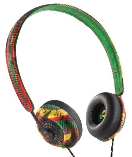 House Of Marley Em-Jh041-Ra Harambe Rasta On-Ear Headphones
