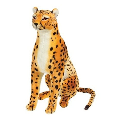 Melissa & Doug Plush Cheetah front-10143