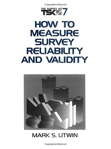 How to Measure Survey Reliability and Validity (Survey Kit)