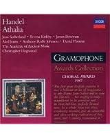 Haendel - Athalia / Sutherland, Kirkby, Bowman, AAM, Hogwood