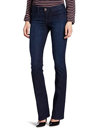 True Religion Women's Tony Hi-Rise Luxe Micro Boot Jean, Lonestar, 25