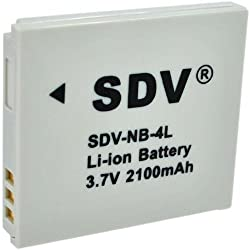 Replacement Battery Canon NB-4L for SD1400IS,SD940IS, SD960IS SD1000 SD400,D300,ELPH 330 HS,300 HS,100 HS, 310 HS,