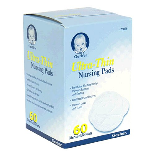 Gerber Ultra-Thin Nursing Pads, 60pk