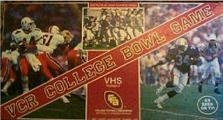 VCR College Bowl Game