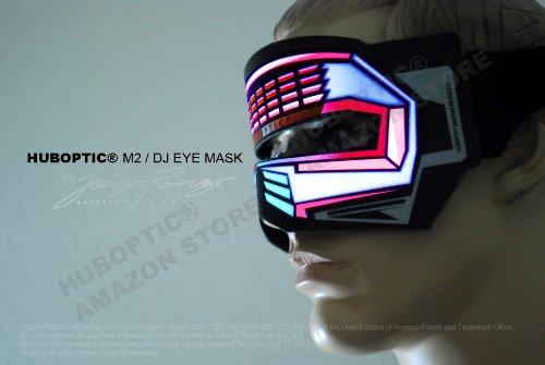 HUBOPTIC M2 HUB-M0006 DJ Eye Mask LED Light