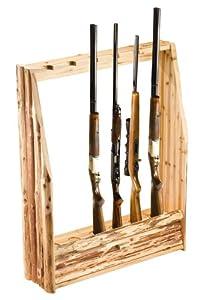 Rush Creek 6-Gun Rack With Storage by Rush Creek