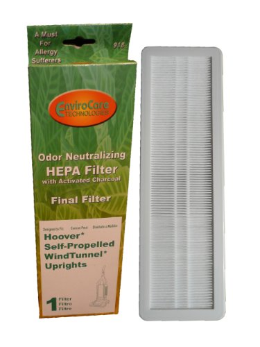(50) Hoover Windtunnel Pleated Hepa W/Activated Charcoal Vacuum Filter, Upright, Self Propelled Vacuum Cleaners, 3613021, 43613-022, H-40120101, H-43613021, Str4265 front-255245