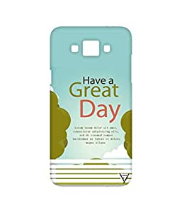 Vogueshell Have a Great Day Printed Symmetry PRO Series Hard Back Case for Samsung Galaxy Grand Max