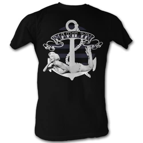 A&E Designs Marilyn Monroe Shirt Anchor T shirt