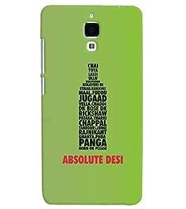 Desicase back cover for Xiaomi Redmi 4