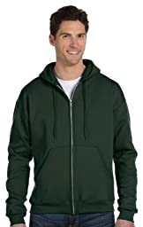 Champion C22C CH 50/50 Full Zip Hood Jacket - Dark Green - XX-Large