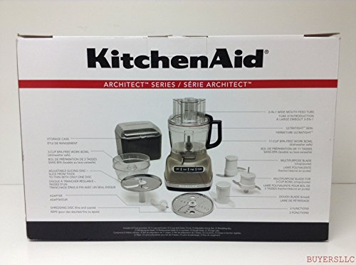 Kitchenaid Kfp1133Acs Architect 11-Cup Food Processor With Exactslice front-125163