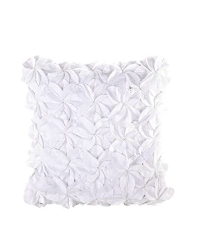 Nanette Lepore Villa Paisley Medallion Pillow, White