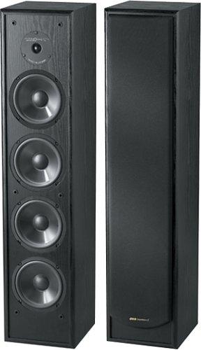 Bic America DV84 Venturi 2-Way Tower Speaker, Single (Black)