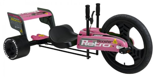 Retro Booster Spinning Go-Cart - Pink