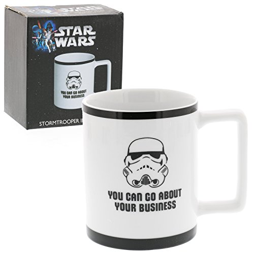 Find Bargain Underground Toys Star Wars Coffee Mug - 10 oz Stormtrooper Imperial Porcelain