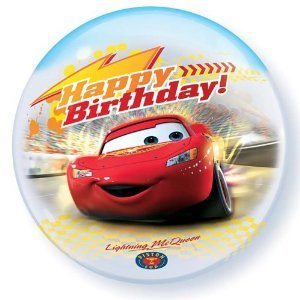 Mayflower Distributing - Disney's Cars Birthday Bubble Shaped Balloon - 1