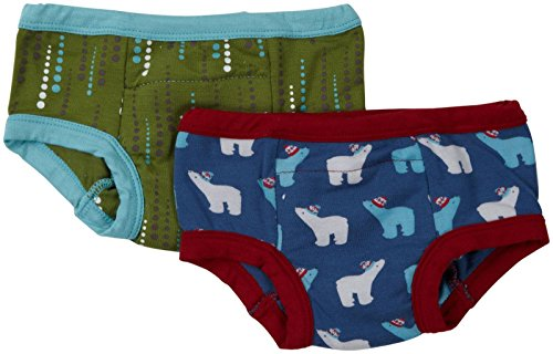 Kickee Pants Little Boys' 2 Pack Training Pants (Toddler/Kid) - Blue - 2T/3T front-632148