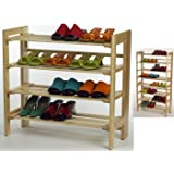 Shoe Rack,4-tier ~ Everything In Its Place