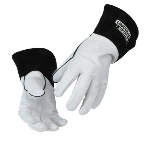 Lincoln Electric K2981 Goatskin Leather Tig Welding Gloves, Large
