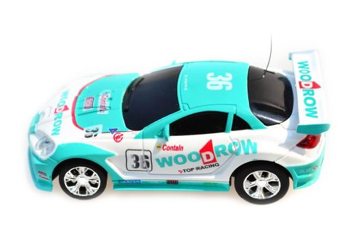 My Funky Planet Toyatar - 1:67 - RC Mini Racing Car, Green/White