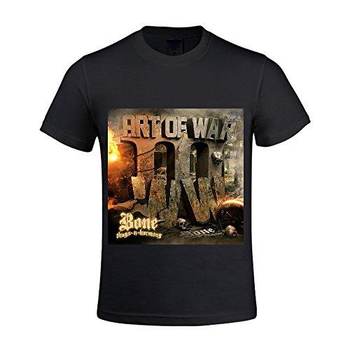 Bone-Thugs-n-Harmony-Art-of-War-WWIII-Men-T-Shirts-Crew-Neck-Digital-Printed